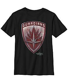 Marvel Big Boy's Guardians of Galaxy 2 Tattoo Shield Short Sleeve T-Shirt
