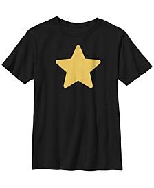 Cartoon Network Big Boys Steven Universe Greg's Star Short Sleeve T-Shirt