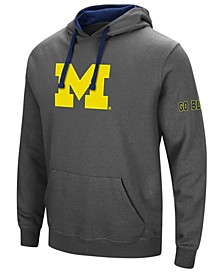 Men's Michigan Wolverines Big Logo Hoodie