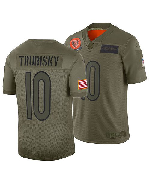 Nike Men's Mitchell Trubisky Chicago Bears Salute To Service Jersey 2019