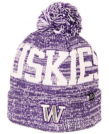 Washington Huskies Celsius Pom Knit Hat