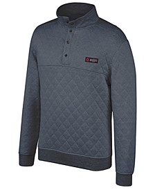 Men's Ohio State Buckeyes Quilted Snap Pullover
