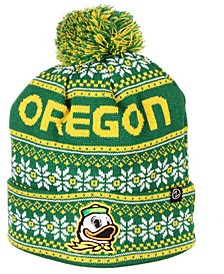 Oregon Ducks Blitzen Pom Knit Hat