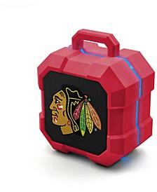 Prime Brands Chicago Blackhawks Shockbox LED Speaker