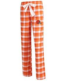 Women's Cleveland Browns Piedmont Flannel Pajama Pants