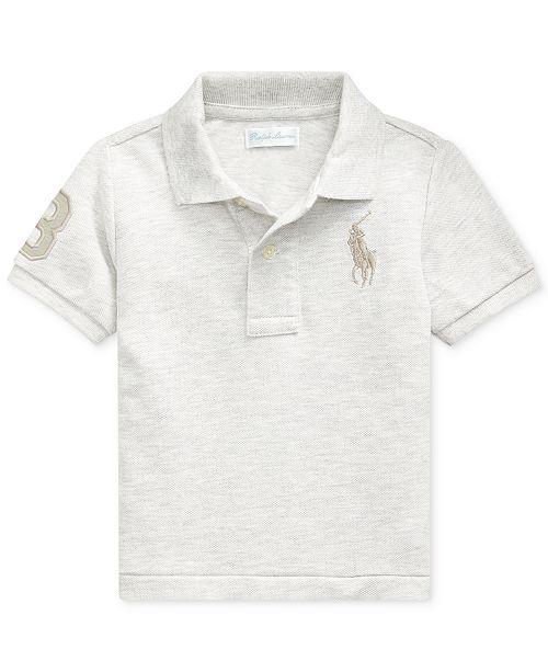 Polo Ralph Lauren Baby Boys Mesh Short-Sleeve Top