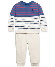 Baby Boys Terry Pants Set