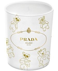 Receive a Complimentary Candle with any large spray purchase from the Prada Candy women's fragrance collection