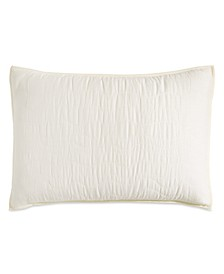 Cotton Voile Quilted King Sham