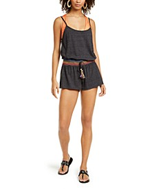 Solid Sunset Romper Cover-Up