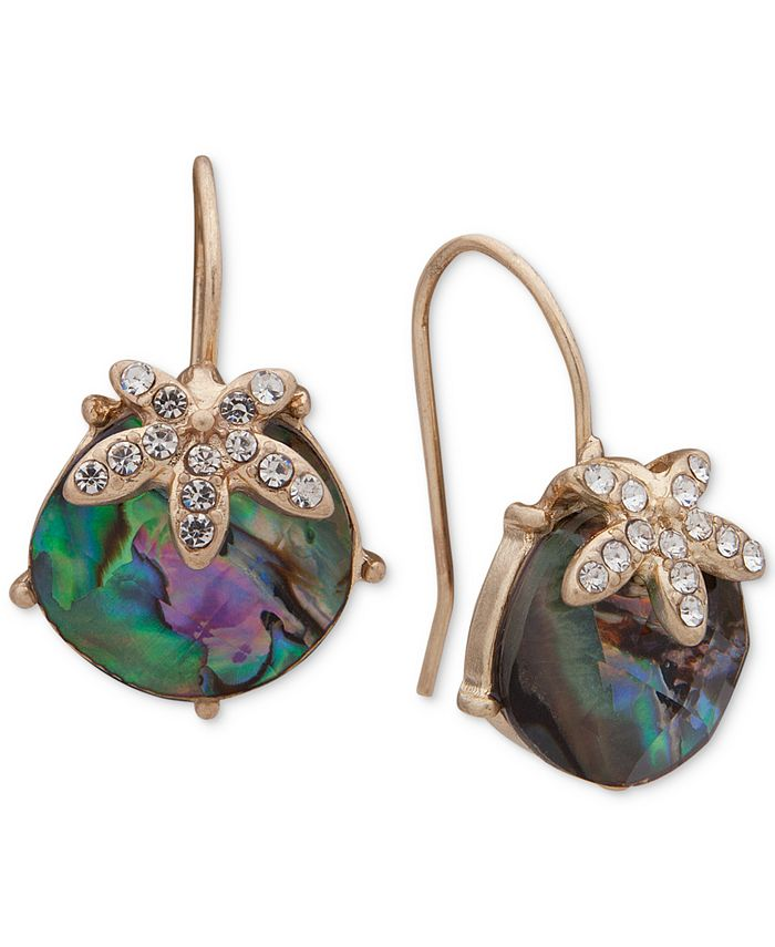 lonna & lilly - Gold-Tone Stone Drop Earrings