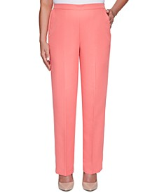 Petite Miami Beach Pull-On Pants