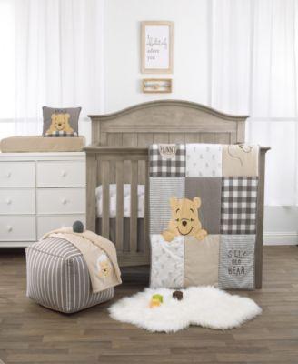 Winnie the Pooh 3-Piece Crib Bedding Set