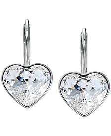 Crystal Bella Heart Drop Earrings