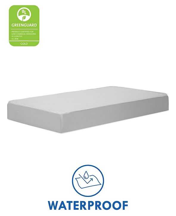 DaVinci Complete Slumber Standard Size Crib and Toddler Mattress, Firm Support, Non-Toxic