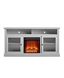 """Schroeder Creek Fireplace TV Stand for TVs up to 65"""""""