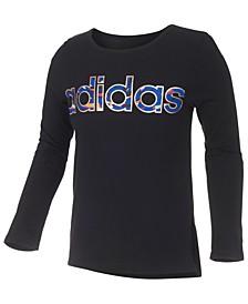 Big Girls Logo-Print Long Sleeve T-Shirt