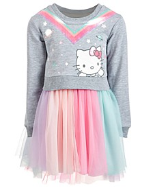 Little Girls Sweatshirt Tutu Dress