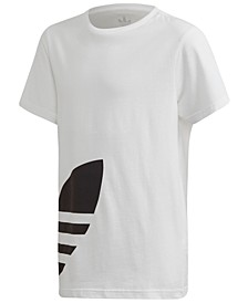 Big Boys Cotton Big Trefoil T-Shirt