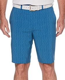 Men's Micro-Print Shorts