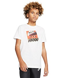Big Boys Cotton Shoe Box T-Shirt