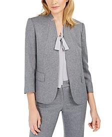 Cutaway-Collar Jacket