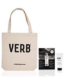 Receive a Free 3pc Haircare Gift with any 3 Verb items purchased