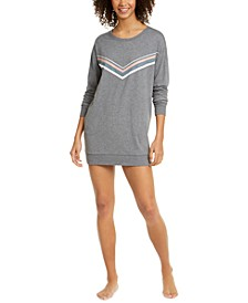 Graphic-Print Sleepshirt Nightgown, Created for Macy's