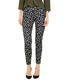 Floral-Print Jeggings, Regular & Petite
