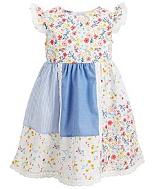Toddler Girls Patchwork Dress