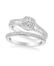 Diamond Bridal Set (1 ct. t.w.) in 14k White, Yellow or Rose Gold