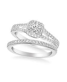 Diamond Bridal Set (1 ct. t.w.) in 14k White, Yellow or Rose Gold