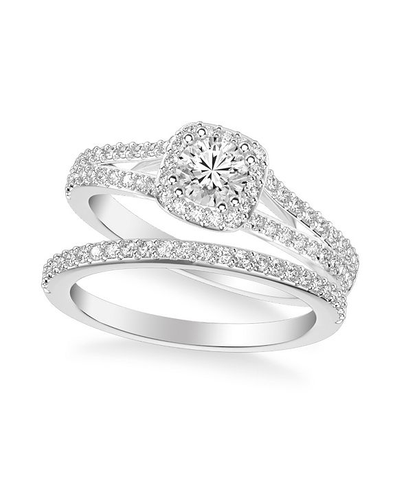 Macy's Diamond Bridal Set (1 ct. t.w.) in 14k White, Yellow or Rose Gold