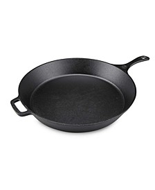 "15"" Seasoned Cast Ironround Skillet"