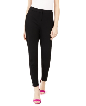 Vince Camuto PETITE TWO-WAY-STRETCH TWILL PANTS