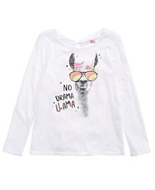 Big Girls No Drama Llama T-Shirt, Created For Macy's