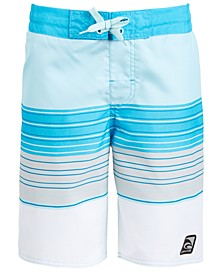 Big Boys Beach Stripe Swim Trunks