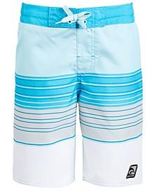 Big Boys Beach Stripe Swim Trunks