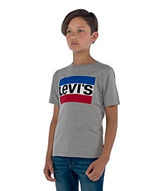 Logo-Print Cotton T-Shirt, Big Boys
