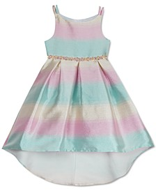 Toddler Girls Ombré High-Low Dress