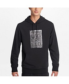 Paris Men's Shiny Logo Big Block Hoodie