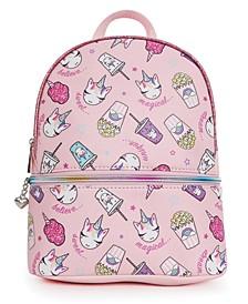 Miss Gwen's Unicorn Snacks Mini Backpack