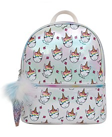 Ice Cream Miss Gwen Printed Dome Mini Backpack