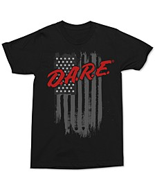 D.A.R.E. Flag Men's Graphic T-Shirt