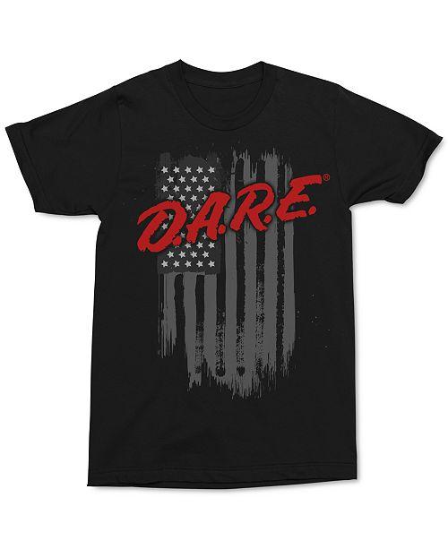 Changes D.A.R.E. Flag Men's Graphic T-Shirt
