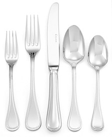 Flatware 18/10, Le Perle 5-Piece Place Setting