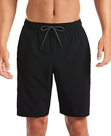 "Men's 6:1 Stripe Breaker Water-Repellent Colorblocked 9"" Board Shorts"