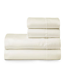 The Welhome Smooth Cotton Tencel Sateen Full Sheet Set