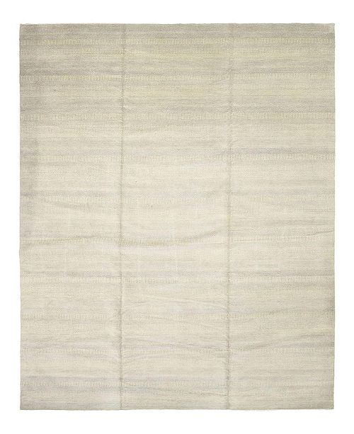 """Timeless Rug Designs CLOSEOUT! One of a Kind OOAK356 Ivory 12'9"""" x 20'4"""" Area Rug"""