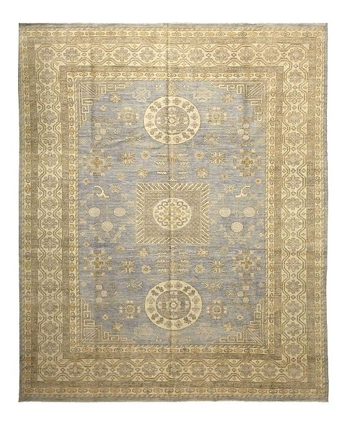 "Timeless Rug Designs CLOSEOUT! One of a Kind OOAK1073 Denim 10'2"" x 14' Area Rug"